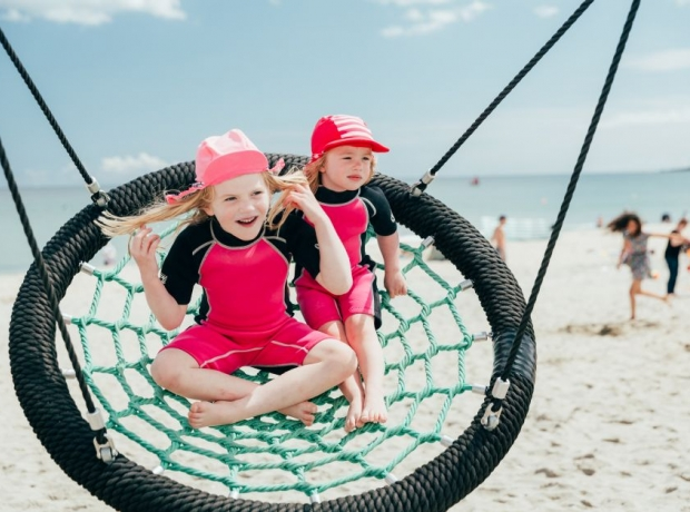 Family holidays at Pentewan offer beachside fun for children and parents alike
