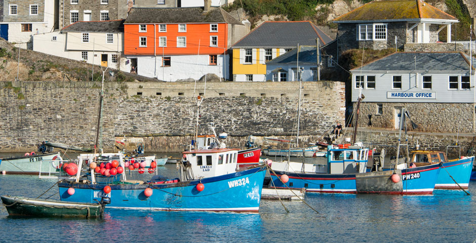 Fishing Harbour at Mevagissey