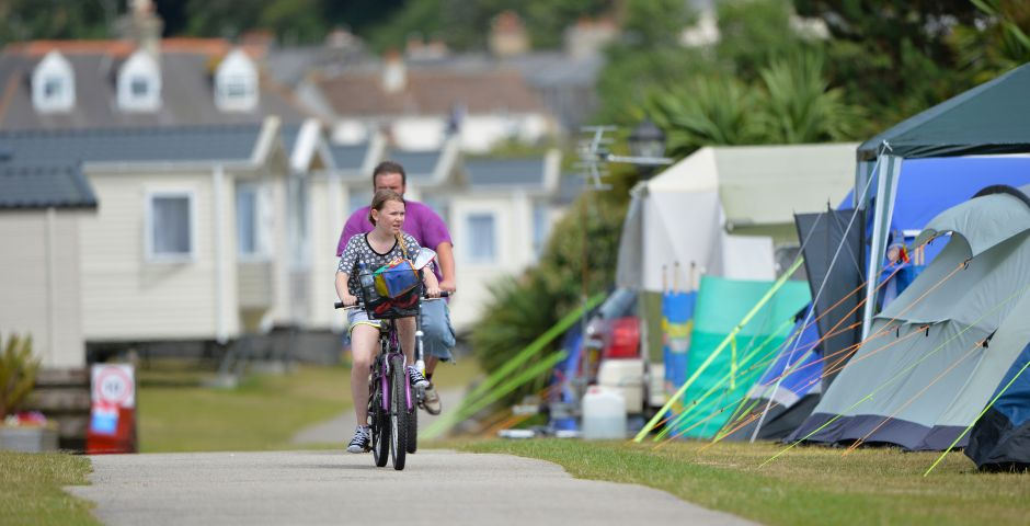 There are some excellent cycle trails near Pentewan Sands Holiday Park