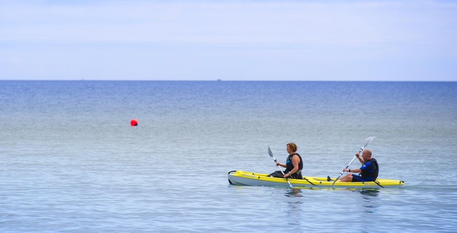 Watersports at Pentewan Sands Holiday Park