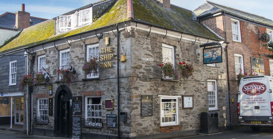The Ship Inn, Mevagissey