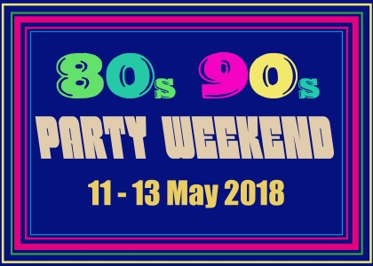 80s 90s Party Weekend