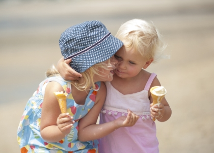 Where to go for incredible ice cream - Pentewan Sands Holiday Park, Cornwall
